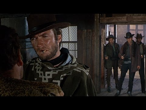 Thumbnail: For a Few Dollars More - Clint Eastwood's Entrance (1965 HD)
