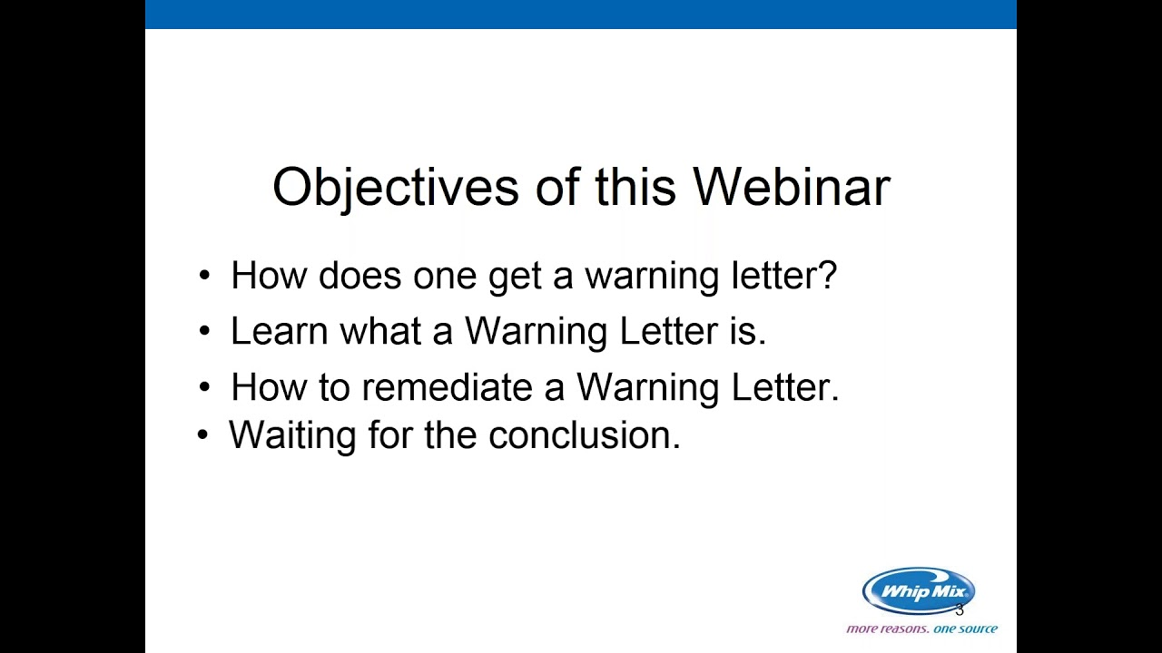 How to Address an FDA 483 Warning Letter