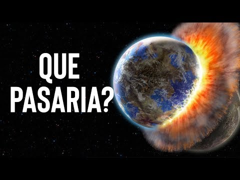 Que pasaria si la tierra se estrella contra otro planeta?