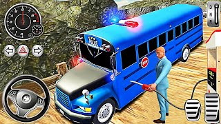 Offroad Driver Police Bus - Coach Hill Dangerous Duty Simulator - Best Android GamePlay #2