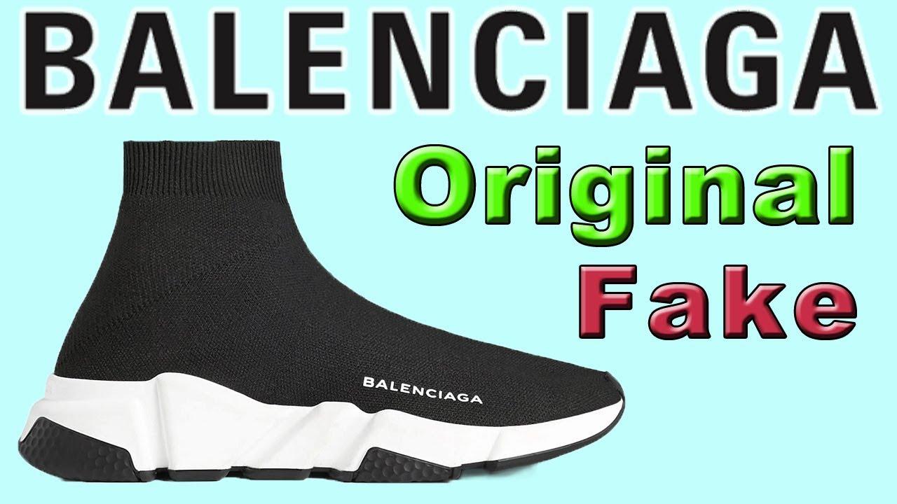 Balenciaga Original Fake из Китая с AliExpress Баленсиага Оригинал Подделка
