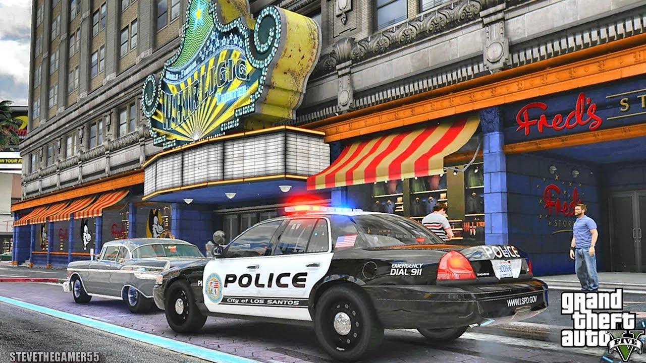 GTA 5 MODS LSPDFR 1015 -  MONDAY CITY PATROL!!! (GTA 5 REAL LIFE PC MOD)