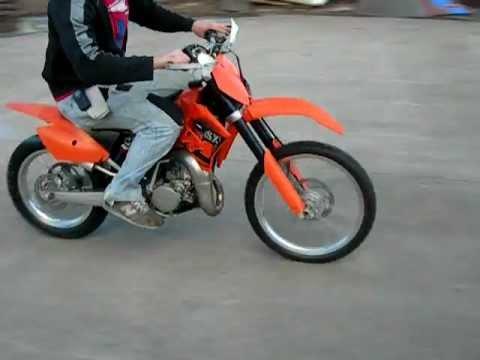2006 KTM 105SX FOR SALE WWW.RACERSEDGE411.COM - YouTube
