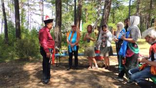 Rituale sciamanico sul lago Baikal 14