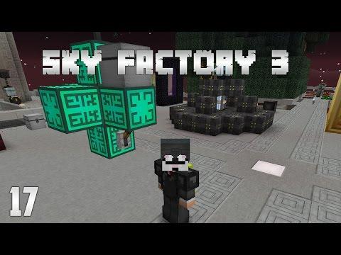 Sky Factory 3 EP17 - Quantum Quarry + Drill