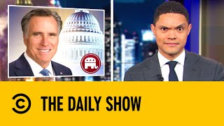 Mitt Romney's Blowing Skills | The Daily Show with Trevor Noah