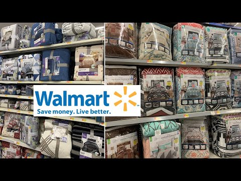 Walmart Bedding Sets | Home Decor Bedroom Decor | Shop With Me August 2019