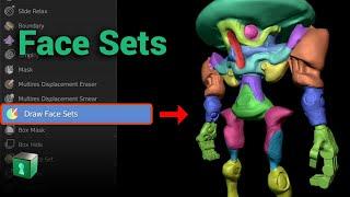 Blender Secrets - Face Sets