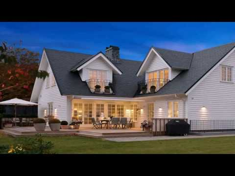 New England Style House Design