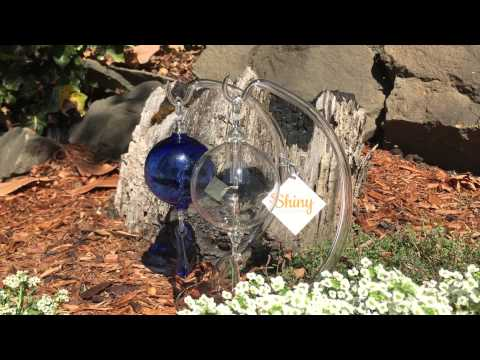 Solar Radiometers using clear and cobalt blue glass