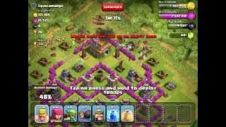 Clash of Clans - 550k + 2 stars - barbarians/archers attack style - OLD FOXES