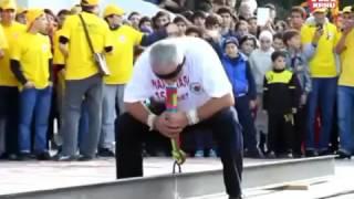 Дагестанский богатырь Омар Ханапиев
