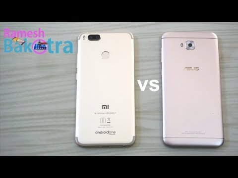 Asus Zenfone 4 Selfie vs Xiaomi Mi A1 Speed Test Comparison