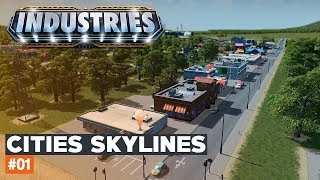 Cities Skylines | #01 | Black Lake | INDUSTRIES DLC
