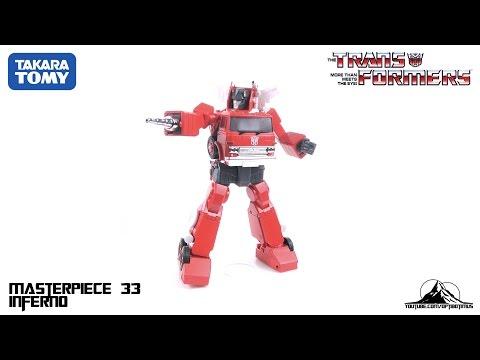 TakaraTomy Transformers MP-33 Masterpiece INFERNO Video Review