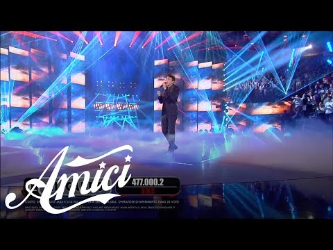 Amici 16, La Finale - Riccardo - Perdo le parole