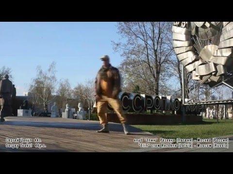 50 old soviet breakdancers flashmob