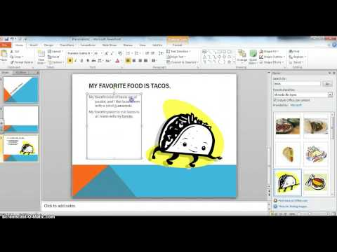 My Personal Profile Powerpoint