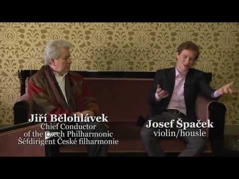 Dvořák, Suk, Janáček – Violin Concertos / Josef Špaček, Jiří Bělohlávek (album teaser)