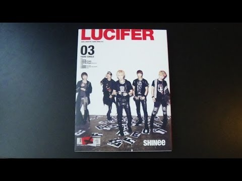 Unboxing SHINee 3rd Japanese Single Album Lucifer [Type B]
