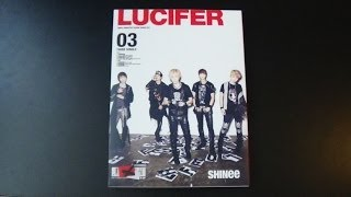 Unboxing SHINee 3rd Japanese Single Album Lucifer [Type B]