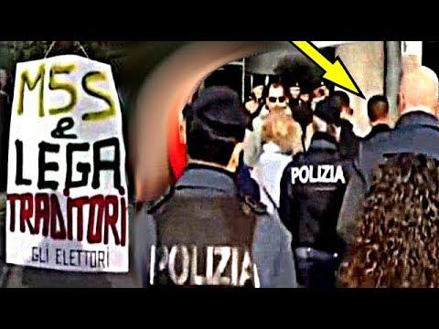 Di Maio contestato di brutto a Vicenza , ma i TG RAI roccocasalinizzati cancellano tutto