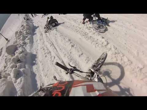 Mega Avalanche 2013 Start Line Pile Up - Funny