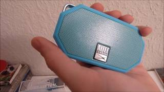 Altec Lansing Mini H2O Rugged Bluetooth Speaker Unboxing