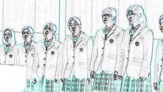 新渡戸(にとべ)文化中学高等学校の合唱発表会で歌われた「時をかける少女」で歌われた「ガーネット」です。