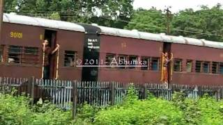 Amazing narrow gauge train on the move ~ Incredible Railways- Incredible India