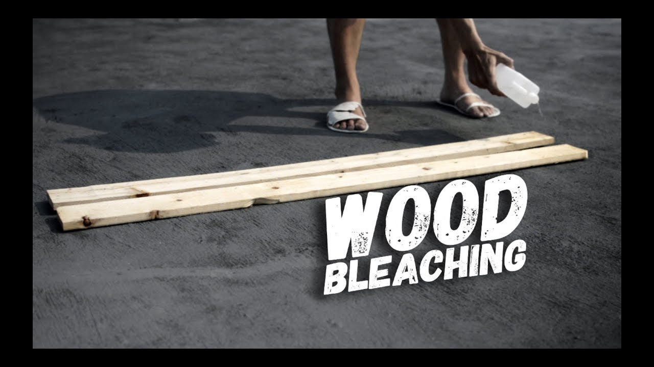 How To Bleach Wood White
