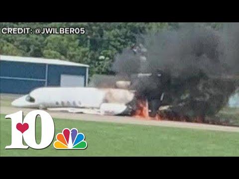 NASCAR driver Dale Earnhardt Jr. survives fiery plane crash