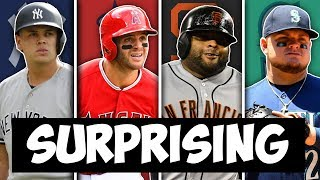 MOST SURPRISING MLB PLAYER FROM EVERY TEAM