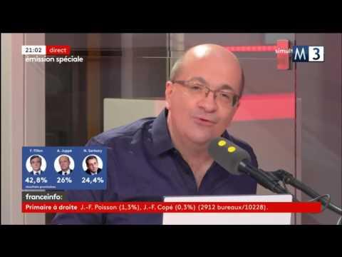 franceinfo: | Le Journal assuré par la radio + Edition Spéciale | 20/11/2016