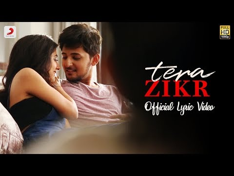 Tera Zikr - Official Lyric Video | Darshan Raval | Fans Video