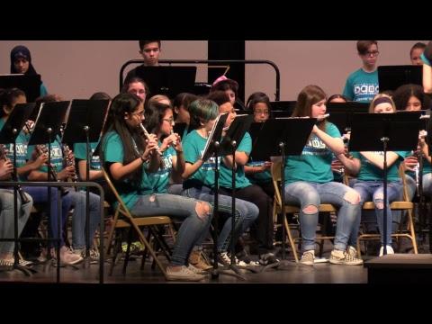 Ellenville Middle School Band Concert 3/4/19