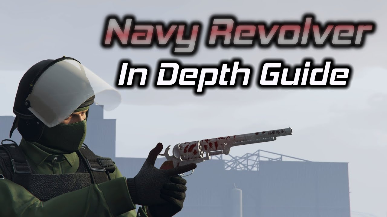GTA Online: Navy Revolver In Depth Guide (How to Unlock, Stats, and More) thumbnail