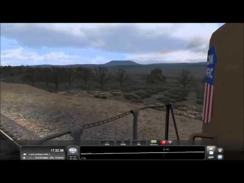 train simulator 2016-capitulo 132-escenario transporte combinado a monument