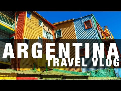 Argentina - Buenos Aires Travel Vlog
