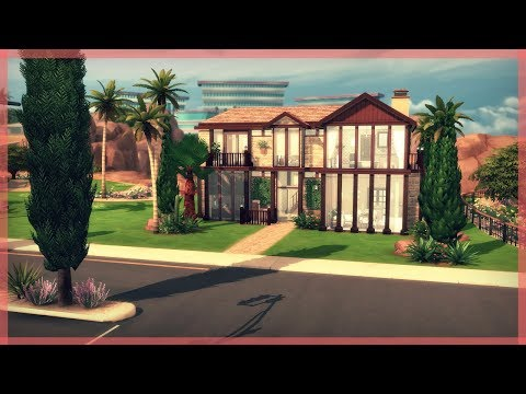 The Sims 4 House Build | Exotic Contemporary Home | Palm Heights