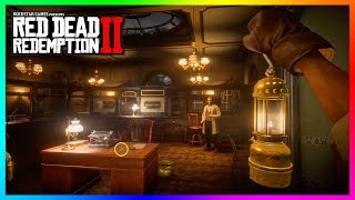 Discovering A SECRET Bank In Red Dead Redemption 2 & Uncovering The Hidden Mysteries Inside! (RDR2)