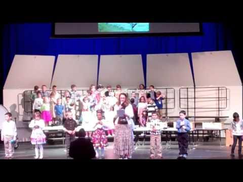 "Wichita Collegiate School Kindergarten Music Program 2013- ""Kansas: The Land of Ahs!"""