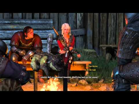The Witcher 3: Wild Hunt Ciri's Original & Alternative outfits