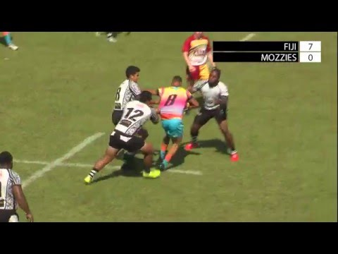 Brisbane Fiji vs NT Mosquitoes Buff Semi Final, Hottest 7s 2016