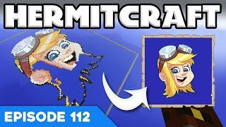 Hermitcraft V 112 | CUSTOM MAP LOGO! 😱 | A Minecraft Let's Play Video