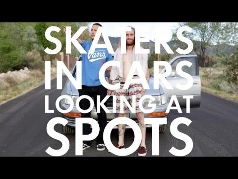 Skaters In Cars: Daniel Lutheran | X Games