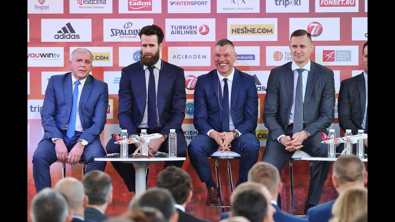 Šaro ir Željko pokštai finalo ketverto konferencijoje