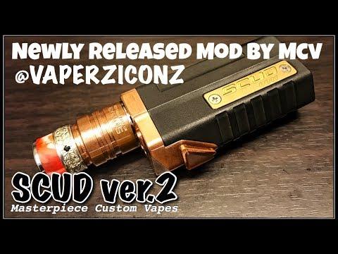 SCUD V2 by Mcv | Vaperziconz vlog