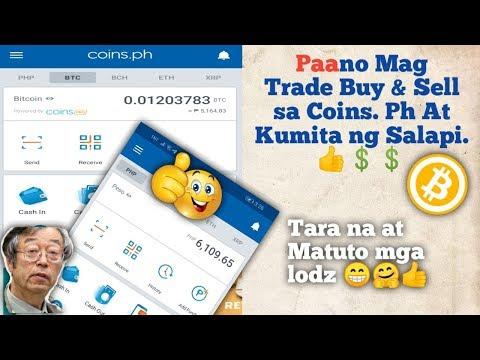 Paano Kumita Sa Buy&Sell Bitcoin Sa Coins.ph, Coins.ph Buy&Sell Tutorial 2020👌