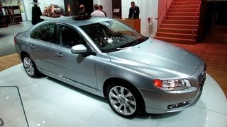 2013 Volvo S80 T6 AWD - Exterior and Interior Walkaround - 2013 Detroit Auto Show